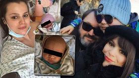 Pravda o druhém porodu Ornelly Koktové: Hazard se životem! Na JIP kvůli komplikacím