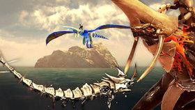 Postapokalyptický svět je plný drsných draků! Recenze remaku Panzer Dragoon