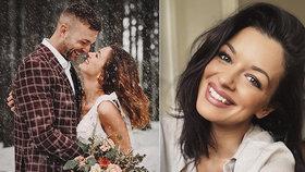 Jitka Boho se pochlubila svatební fotkou: Manžel Lukáš to ale není!
