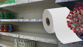 """V Británii se krade jako za války. Zloději jdou po """"toaleťáku"""", nabízí i falešné testy"""