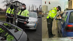 Policie dohlíží na vládní nařízení: Turisty i řidiče sledují drony!