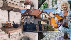 Nový dům Petera Nagyho (60): Zařizoval ho tři roky! Zahrada bere dech