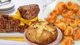 Rychlé velikonoční pečení: Mazanec i jidáše bez droždí! A beránek naslano!