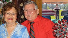 Lásku nezničil ani koronavirus: Manželé (oba †72) zemřeli šest minut po sobě ruku v ruce