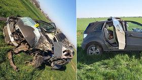 Řidič (†62) mercedesu neměl nejmenší šanci přežít: Napálil to přímo do stromu!