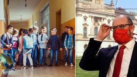 Nechte děti doma do září, žádá petice. Roušky ve třídě jsou podle rodičů i kantorů absurdní