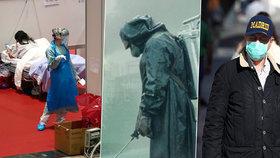 Španělé bojují s nákazou v kostýmech ze seriálu Černobyl: Věnovala jim je tamní firma