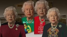 Britská královna Alžběta II. terčem internetových vtipálků: Sama si o to řekla!