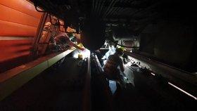 Na Petřinách spadla pod metro žena (35). S vážnými poraněními putovala do nemocnice