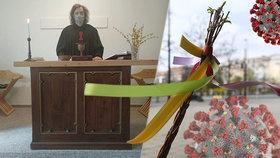 """Nejen zkažená pomlázka. """"Češi hledají víru,"""" říká kněz o Velikonocích pod diktátem viru"""