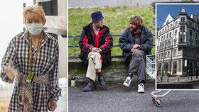 """Mária (50) pečuje o bezdomovce: Sama kvůli depresím ztratila domov. """"Tahle krize mi dala druhou šanci,"""" říká"""