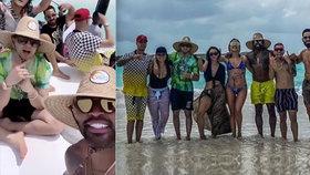 Děti venezuelských politiků před koronou odjely pařit do Karibiku: Prostitutky, drogy a nákaza...