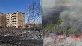 Černobyl se bojí další katastrofy: Požár se blíží k jaderné elektrárně