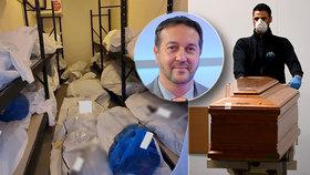 Koronavirus se šíří i po smrti? Soudní lékař zemřel po kontaktu s tělem nakaženého! Odborník popsal, jak se chránit