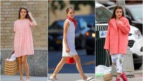 Ve 14 módní ikona? Dcera Toma Cruise a Katie Holmes v tom umí chodit