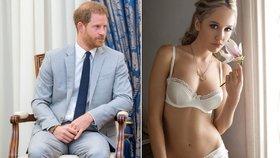 Expřítelkyně prince Harryho: Z jejich vztahu propadla úzkosti a depresi!