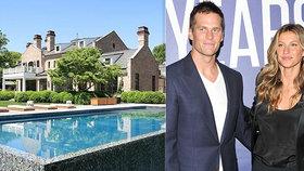 Topmodelka Gisele Bündchenová (39) prodává dům: Luxus za 840 milionů korun!