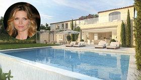 Michelle Pfeiffer si pořídila novou velkolepou vilu. Pro koho je 11 koupelen?