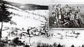 Děsivý masakr 21 lidí v malé vesničce na Valašsku: Na oběti tam vzpomínají dodnes