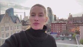 Zoufalá Linda Vojtová v New Yorku: Nesehnala roušky! Pomohla rodina v Čechách