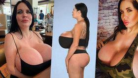 Zklamání erotické modelky s gigantickým poprsím: Chtěla i obří zadek, ale...
