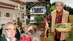 Jak bydlela zesnulá žena (†82) Jiřího Sováka (†79)?  V chalupě se zastavil čas!