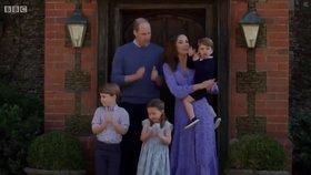 Tři děti Kate a Williama: Komu jsou George, Charlotte a malý Louis podobní?