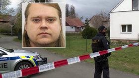 Syn měl u Lanškrouna zavraždit svou mámu (†76) sekerou: Je nebezpečný a pátrá po něm policie!