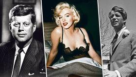 Sex symbol Marilyn Monroe (†36): Potratila před smrtí dítě jednoho z bratří Kennedyů?