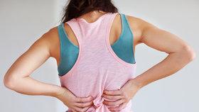 Cviky pro zdravá záda, které vám uleví! Dělejte je pravidelně