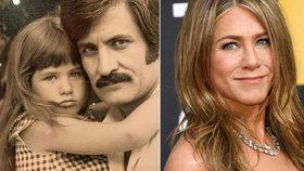 Jennifer Anistonová se usmířila se svým otcem: Po 40 letech!