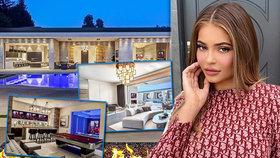 Luxusní karanténa Kylie Jennerové: Utratila miliardu za vilu s bazénem i kurty!