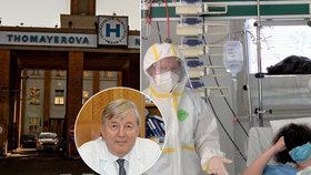 Smrt nakažené sanitářky (†59) z Thomayerky: O obětavé kolegyni promluvil ředitel nemocnice Beneš
