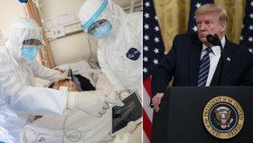 Mám informace o původu nákazy z laboratoře, šokoval Trump. Tajné služby si to nemyslí