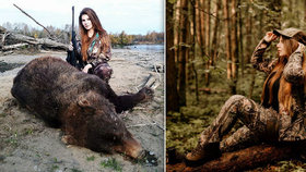 Krásná lovkyně se chlubí zastřelenými zvířaty a čelí ostré kritice! Bez uzardění ale kritiku oplácí