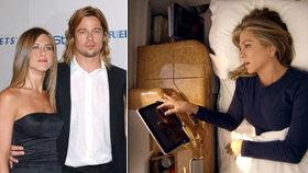 Přiznání Jennifer Anistonové: Sex v letadle nejen s pilotem! S Pittem až před svatbou