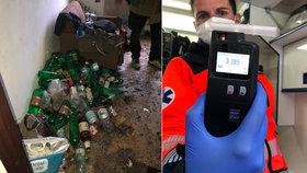 Zvedni si svého opilce: Záchranáři v Kladně se potýkají s epidemií alkoholiků