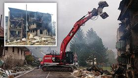 Výbuch domu v Lenoře policie odložila: Viník při explozi zemřel