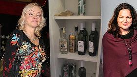 Rozzuřená Gottová po fotkách alkoholu a léků vzkazuje Rezkové: Šárko, sama zobeš!