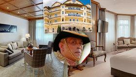 Komnata rozkoše i luxusní jídelna: Thajský král se svými konkubínami okupují 4. patro německého hotelu