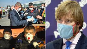 Vojtěch koupil respirátory s falešným certifikátem. Nekvalitní neplatíme, tvrdí