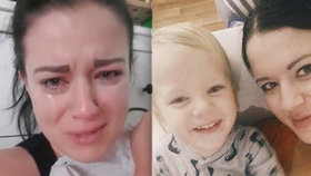 Nejsmutnější Den matek: Ty ku*vy mi zavraždily dítě! Dominika plakala nad ztrátou syna Sebastiánka (†3)