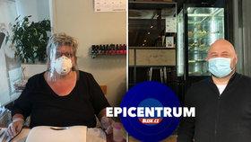 Restauratér a kosmetička o restartu svého podnikání, ztrátách i přísné hygieně