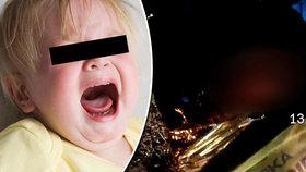 Batole třesoucí se zimou: Brněnští strážníci potkali divnou matku
