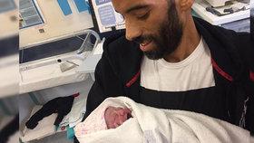 Nemocný tatínek (†38) si novorozenou dcerku dlouho neužil: 48 hodin po porodu ho zabila rakovina