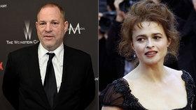 Bellatrix z Harryho Pottera málem obětí násilníka Weinsteina! Jak se ubránila?