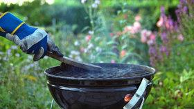 Chcete si užít grilování? Nezapomínejte na čištění grilu