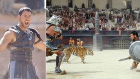 20 let po uvedení Gladiátora vyplulo na povrch: Natáčení? Pohroma a učiněné peklo!