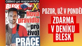 Příručka Česko po koronaviru už v pondělí: Nová pravidla pro život i práci!