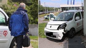 Na cestě s obědy pro seniory se řidič (61) vyboural. Za opilost ho čeká vyhazov a náhrada škody
